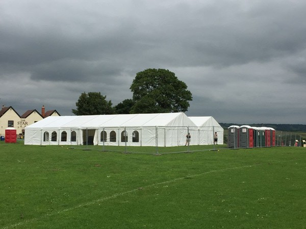 18m x 24m marquee