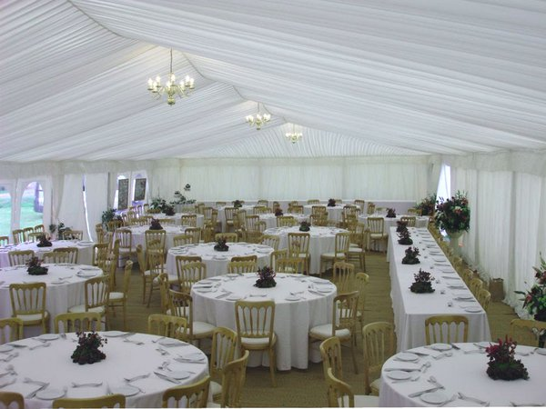 9m x 26m Marshals marquee