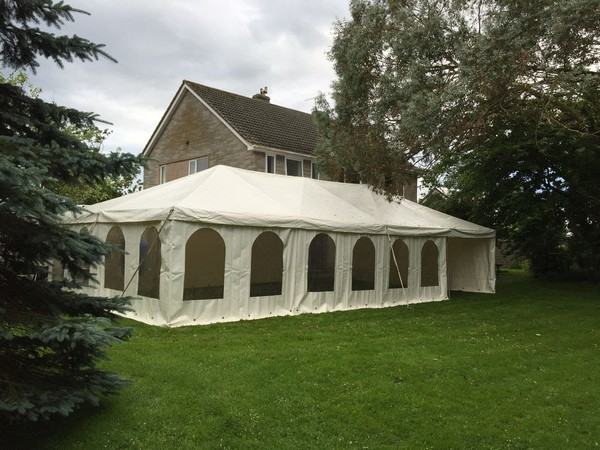 Marshal marquees 20ft x 30ft