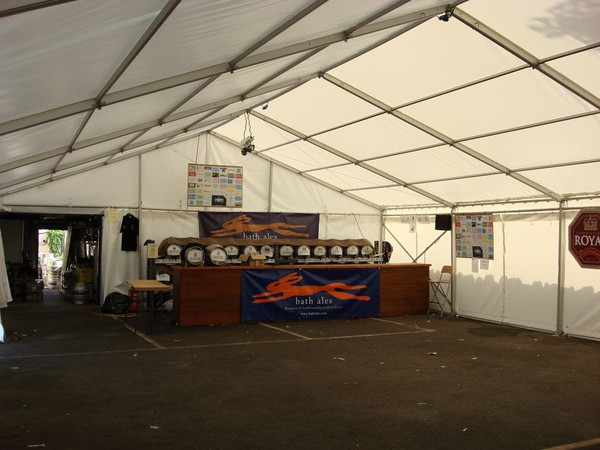 Used 9m framed marquee for sale