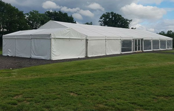 12m x 24m Custom Covers Clearspan marquee for sale