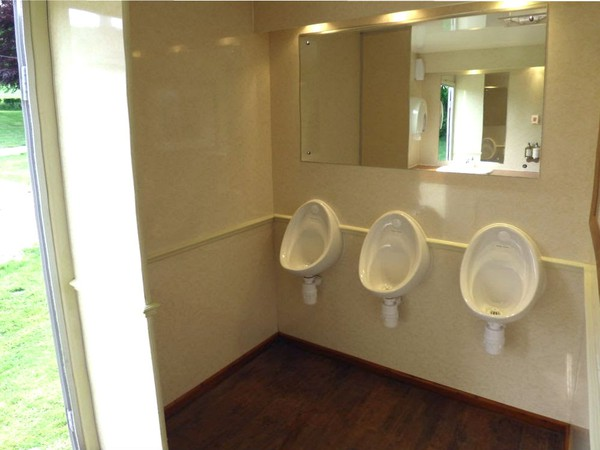 Wedding toilet hire business