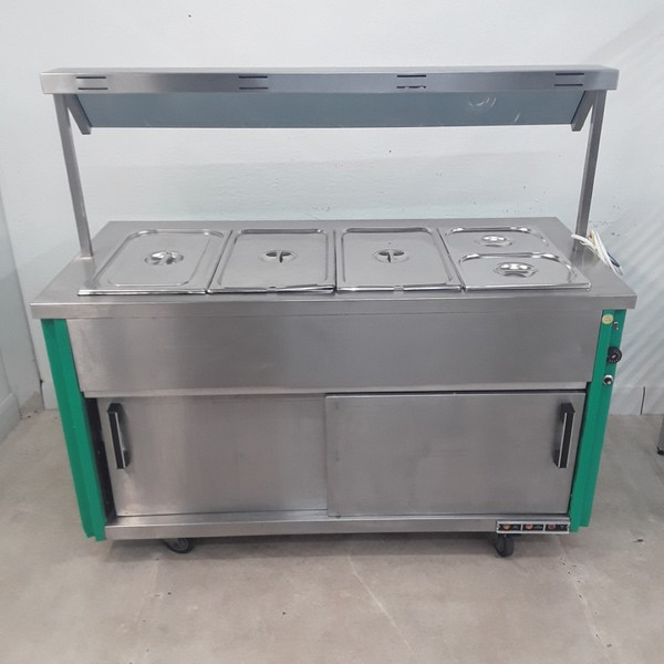 Used   Hot Cupboard Bain Marie Heated Gantry Trolley	(9111)