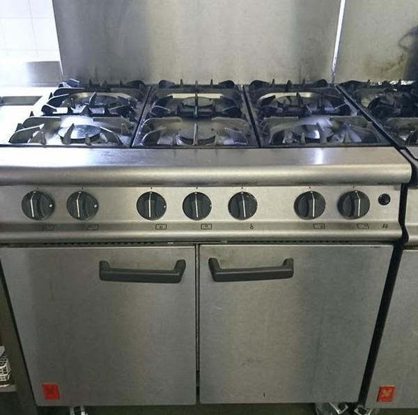 Falcon 6 Range Gas Cooker
