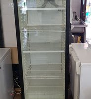 Used Glass Fronted Display Fridge