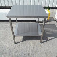 75cmW x 68cm Stainless steel table