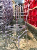 Acrylic Crystal Ice Chiavari Chairs - East Sussex