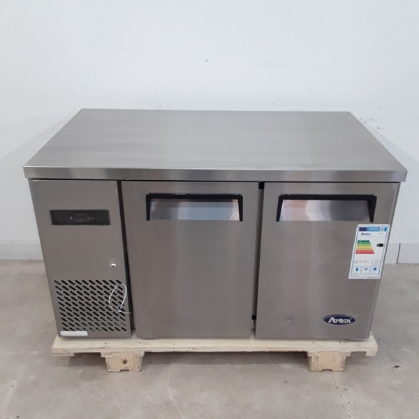 New B Grade Atosa YPF9022 2 Door Bench Fridge(A9146)