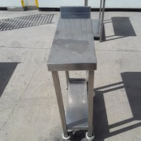 Used Stainless Steel Infill Table (9160)