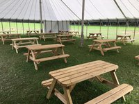 Event Spec Folding Picnic Benches 5 foot