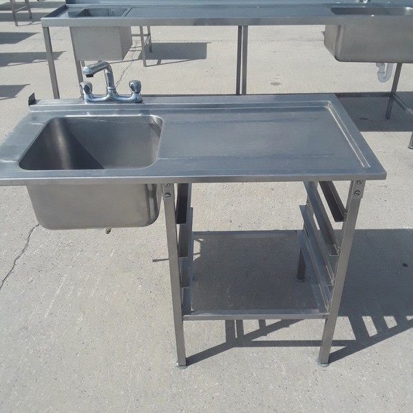 Used Stainless Steel Dishwasher Sink (9184)