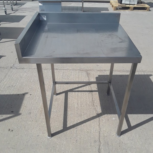Used Stainless Steel Table (9182)