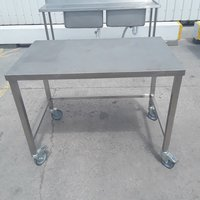 1.16m stainless steel table