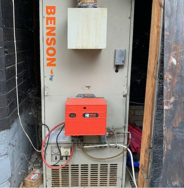 Oil Fired heater