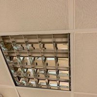 Used Metal Suspended Ceiling Tiles