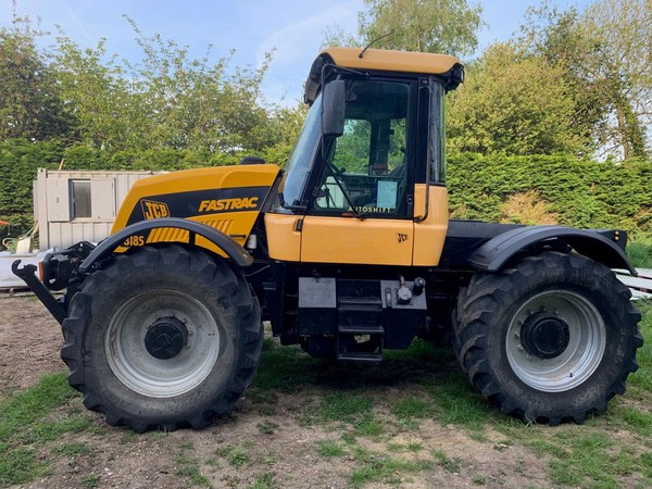 Second Hand JCB 3185 Fastrac 65KPH
