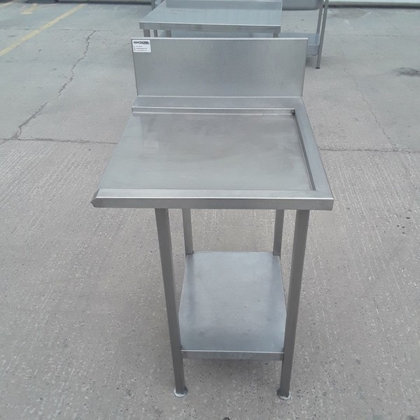 Used Stainless Steel Dishwasher Table (9188)