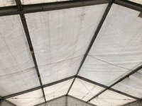 Pvc roofs 7.5m frame marquee