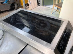 Double electric hob