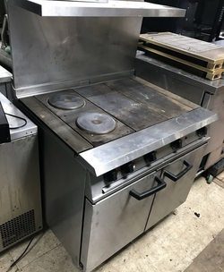 Solid top cooker for sale