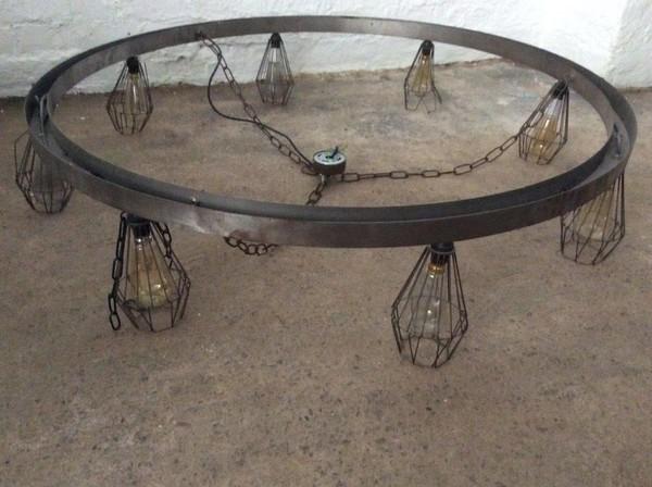 Round Metal Chandelier (CODE L 187)