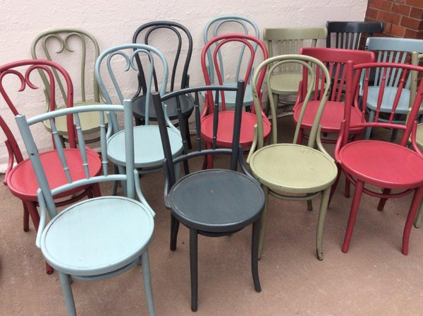 80x Coloured Bentwood Chairs (CODE DC 903)