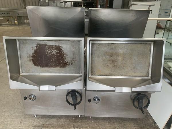 Used bratt pans
