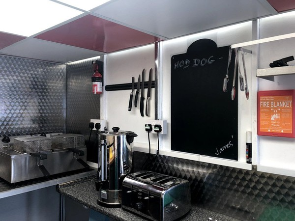 Refurbished Catering Trailer 12' x 6'