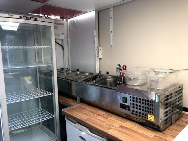 Secondhand Catering Trailer 12' x 6'