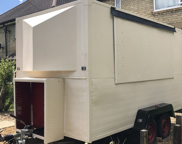 Used Catering Trailer 12' x 6'