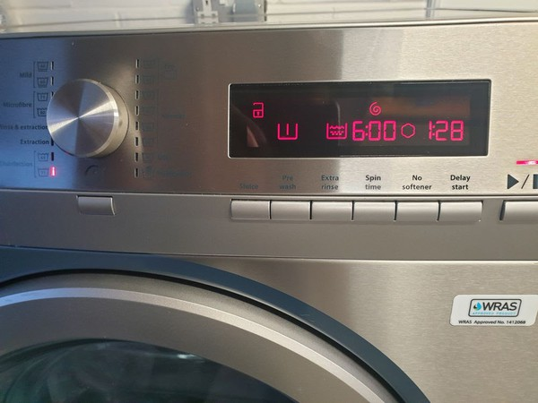WRAS approved washing machine