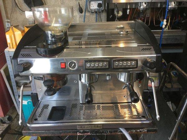 Expobar New Elegance Espresso Machine with Internal Grinder 2 grp Automatic High Groups