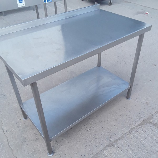 Buy Used  Stainless Steel Table 116cmW x 65cmD x 86cmH (9224)