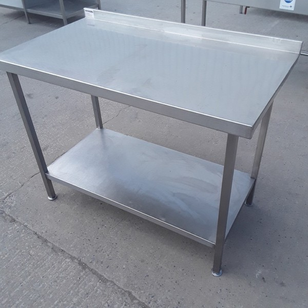 Stainless Steel Table 1160mmW x 650mmD x 860mmH (9224)