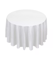 White Banqueting Tablecloths