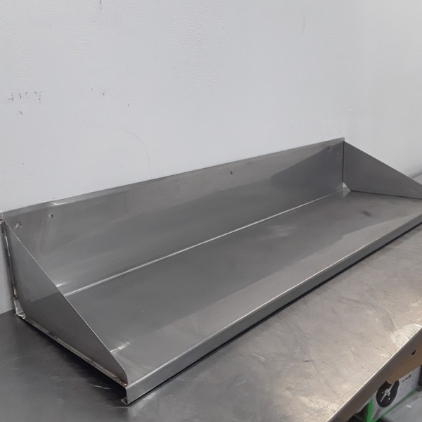 Used   Stainless Steel Wall Shelf	(9237)