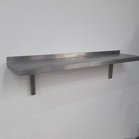 Used   Stainless Steel Wall Shelf	(9236)