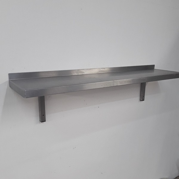 Used   Stainless Steel Wall Shelf(9236)
