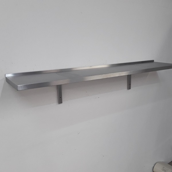 Used   Stainless Steel Wall Shelf(9235)