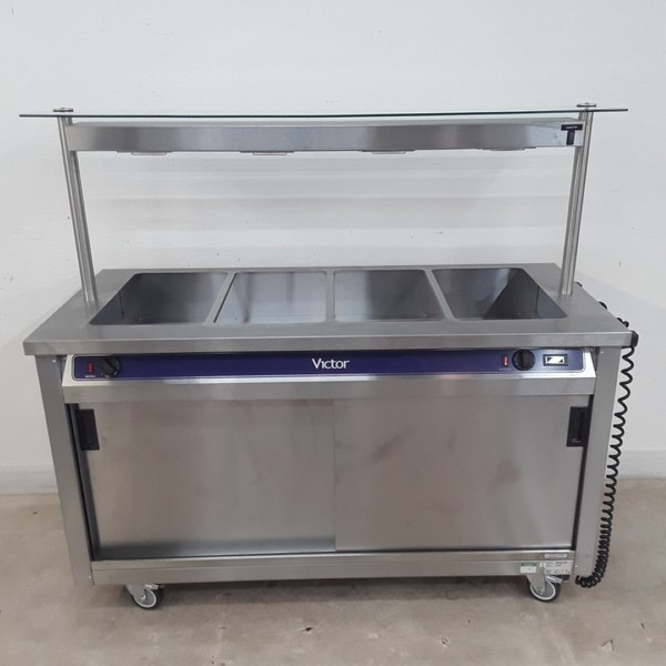 New B Grade Victor CC873 Hot Cupboard Heated Gantry Trolley (9234)