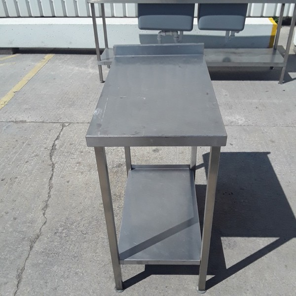Used   Stainless Steel Table(9244)