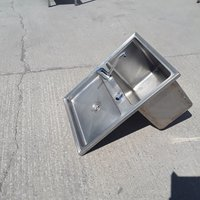 Used Drop-in Stainless Single Sink (9243)