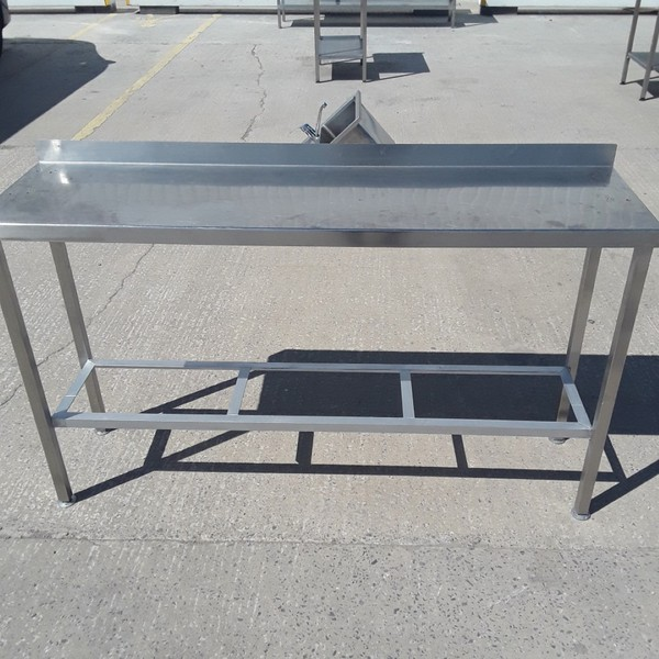 Used Stainless Steel Table (9242)