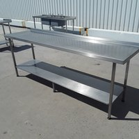 Used   Stainless Steel Table(9239)