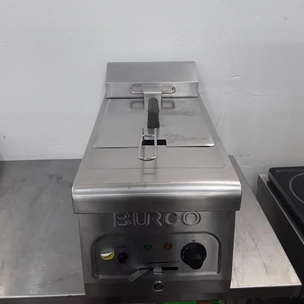 Used Burco CTFR01 Single Table Top Fryer 6L(9247)