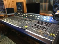 CMX Soundtracs studio mixing desk