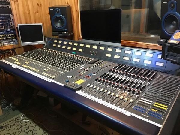 CMX Soundtracs studio mixing desk