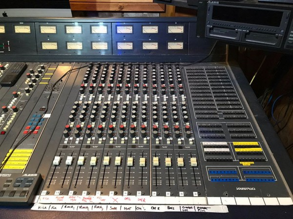 Second Hand CMX Soundtracs studio mixing desk