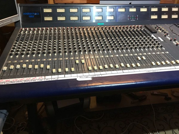 Used CMX Soundtracs studio mixing desk