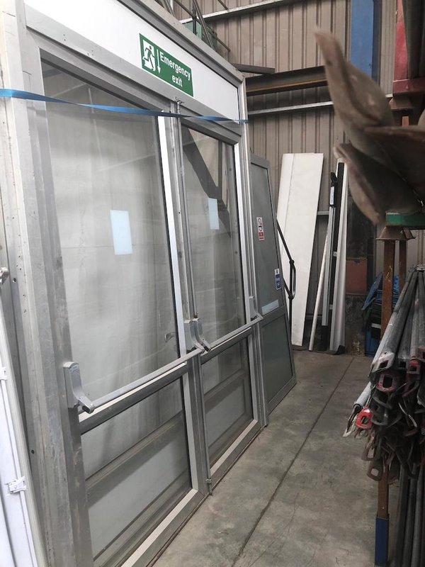 Double Marquee Doors